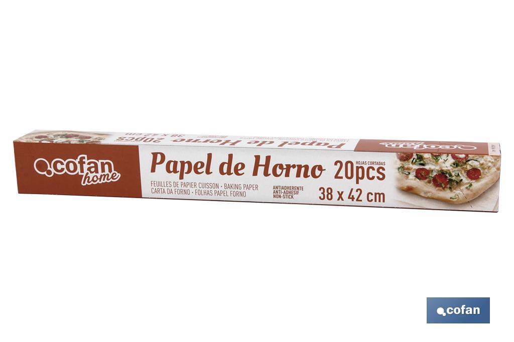 HOJAS PAPEL HORNO